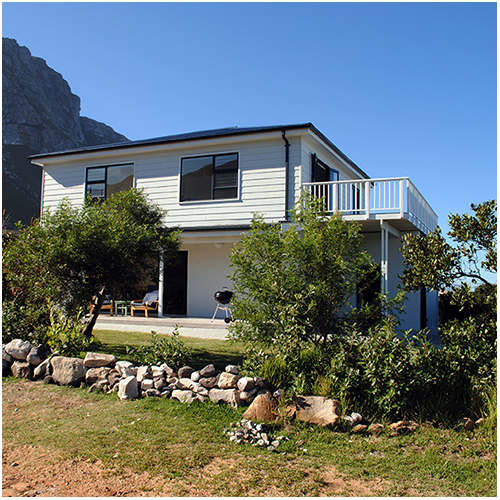 Side of Shelly Beach House