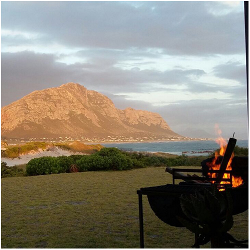 A braai with a view